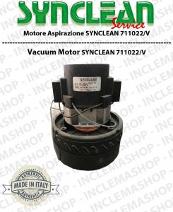 711022/V MOTORE ASPIRAZIONE SYNCLEAN per aspirapolvere & LAVAPAVIMENTI - Può sostituire il motore 3891