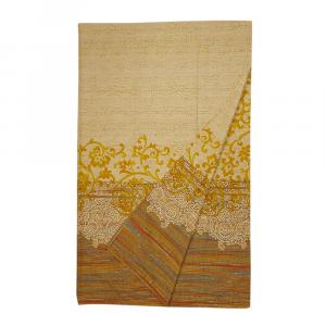 Bassetti Granfoulard telo arredo CAPRI var.4 giallo puro cotone - 180x270 cm