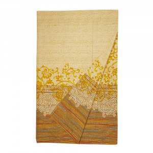Bassetti Granfoulard telo arredo CAPRI var.4 giallo puro cotone - 350x270 cm