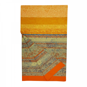 Bassetti Granfoulard telo arredo MONTALCINO v.9 arancio puro cotone - 350x270 cm