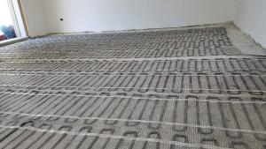 Riscaldameno elettrico radiante a pavimento : montaggio rapido e facile.  prezzo € / mq