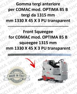 Gomma tergi anteriore tergi da 1315 mm per lavapavimenti COMAC tergipavimento OPTIMA 85 B