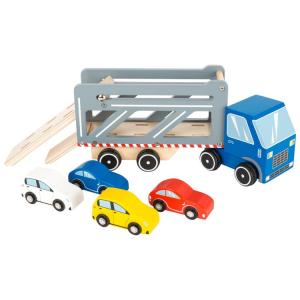 Autocarro bisarca Premium con veicoli gioco in legno