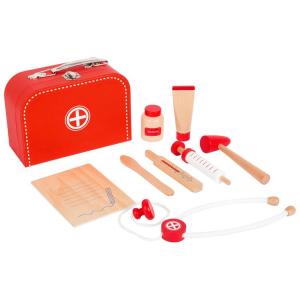 Valigia del dottore Set da gioco bambini in legno