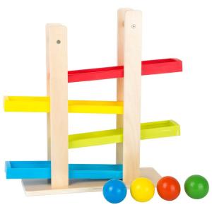Pista per biglie in legno compatta Gioco bambini