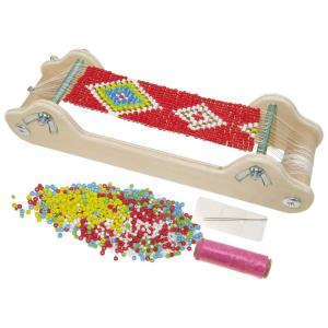 Telaio compatto per tessitura a perline giocattolo