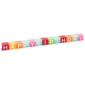 Dadi candela Happy Birthday Decorazione per compleanno
