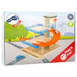 Parcheggio Auto Giocattolo Business class in legno