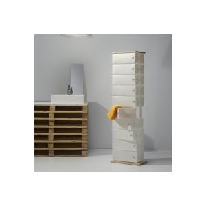 Scarpiera Fluida Emporium, 6 cassetti design Roberto Giacomucci