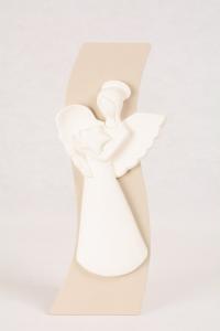 Bassorilievo Angelo Bianco Luna 4742B 24x10 cm