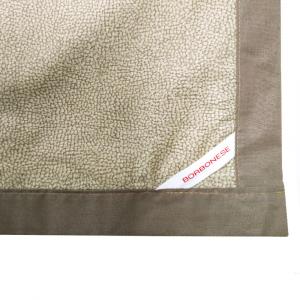 Granfoulard telo arredo copritutto Borbonese in percalle OPLA' 270x290 cm tortora
