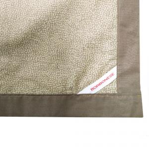 Granfoulard telo arredo copritutto Borbonese in percalle OPLA' 180x290 cm tortora