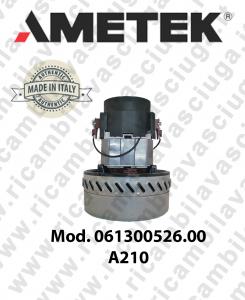 Motore aspirazione AMETEK ITALIA 061300526.00 A 210 per aspirapolvere e aspiraliquidi-2