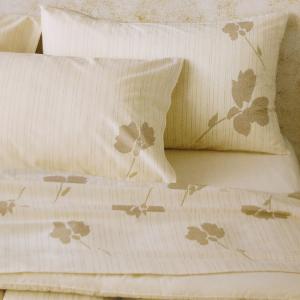 Set lenzuola matrimoniale 2 piazze Gabel in caldo cotone TERRA naturale