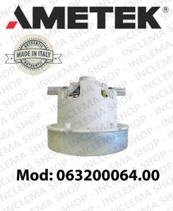Motore aspirazione 063200064.00 AMETEK per aspirapolvere