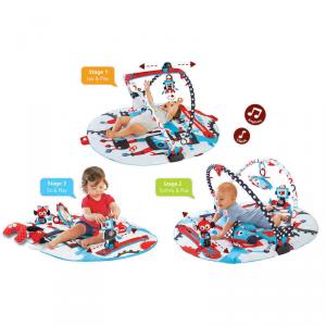 Palestra Giostra per Bambini a 3 Fasi Gymotion Robo Playland Yookidoo 40128