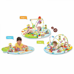 Palestra Giostra per Bambini a 3 Fasi Gymotion Activity Playland™ Yookidoo 40126
