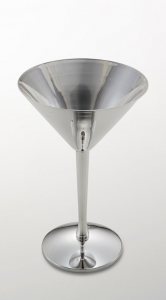 Coppa Martini argentata argento sweet home made in Italy stile Cardinale cm.17,5h diam.11,5