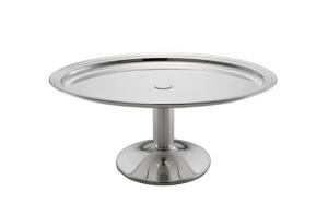 Vassoio ovale con base da buffet argentato argento sheffield cm.39x29x16h