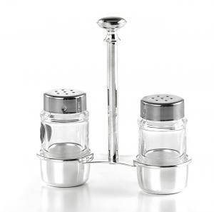 Set sale pepe stile Cardinale argentato argento sheffield cm.13x4,5x14h
