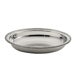 Cestino ovale stile Regina Anna argentato argento sheffield cm.35x27