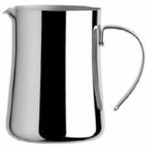 Lattiera 4 tazze 40 cl in acciaio argentato argento sheffield