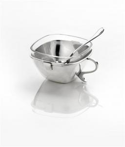 Formaggiera argentata argento cm.10h diam.10