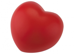 Cuore antistress ROSSO cm.7x7x5,2h