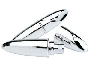 Spruzzaprofumo petalo in silver plated