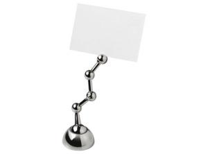 Memo clip segnaposto pieghevole cm.12,2x3,8x3,8h