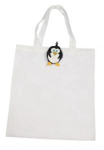Shopper pinguino cm.43x40x0,2h