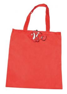 Shopper pesce rosso cm.43x40x0,2h