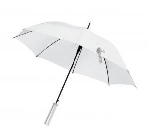 Ombrello bianco da sposa automatico cm.85h diam.103