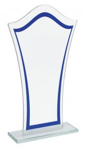 Trofeo in Vetro cm.11x4x18,5h
