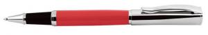 Penna roller rossa e cromata cm.14x1,2x1,2h