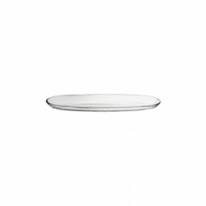 Piatto ovale in vetro cm.30,9x9,5