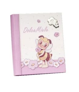 Album portafoto rosa cm.25x20