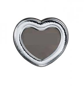 Cornice portafoto cuore in argento cm.diam.13