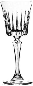 Calici Liquore in Cristallo stile Timeless Rcr Set 6 pezzi cm.16,9h