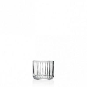 Bicchieri in Cristallo stile Combo Rcr Set 6 pezzi cm.8,4h diam.9