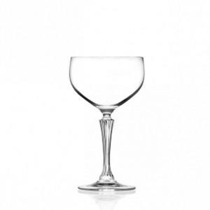 Bicchiere Calice Champagne stile Glamour Rcr Set 6 pezzi cm.19,2h diam.10,3