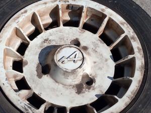 Vendo 4 dischi ruota ( cerchi o cerchioni ) Renault Alpine 13 Pollici