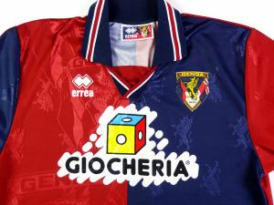1995-96 Genoa Maglia Home L (Top)