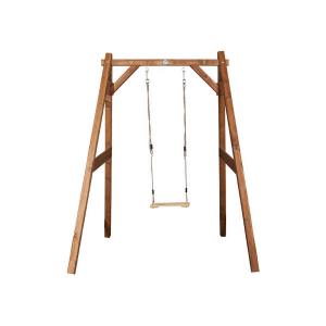 AXI Altalena per bambini in legno da giardino Marrone