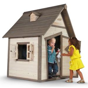 Casetta per Bambini in Legno Cabin SUNNY
