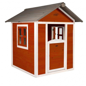 Casetta per Bambini in Legno di Cedro Lodge Scandinavia Red by SUNNY