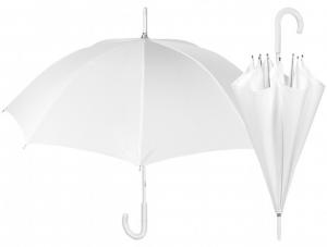 Ombrello Bianco da Sposa Cerimonia cm.54h diam.95