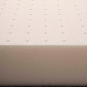 Materasso Lettino o Culla per Bambini alto 12 cm colore Blu + Cuscino Antisoffoco su misura Gratis con Fodera in Cotone Naturale, Rivestimento Sfoderabile con Zip e Lavabile in lavatrice -  Pimpy