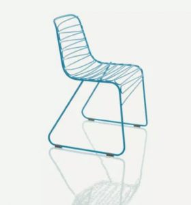 Sedia impilabile per interno/esterno Flux Magis