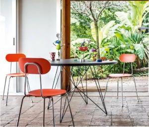 Sedia impilabile per interno/esterno Mariolina Magis